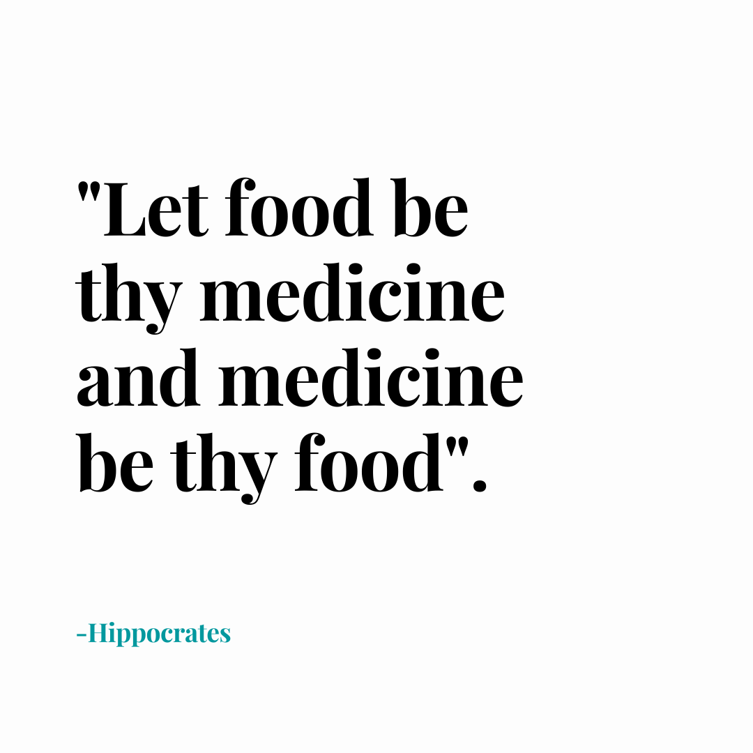 All disease begins in the gut. -Hyppocrates