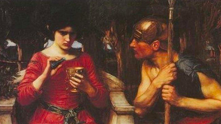 Jason and Medea, Painting by John William Waterhouse 1907